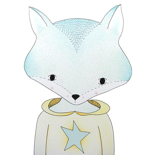 vos jongen - illustratie - tekening